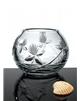 Broušená váza koulová 110 mm
