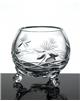 Broušená váza trojnožka 90 mm