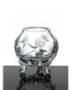 Broušená váza trojnožka 80 mm