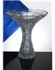 Broušená váza 205 mm