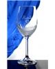 Maturitní sklenička Lara na bílé víno s brusem mašle
