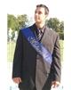Maturitní šerpa modrá