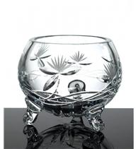 Broušená váza trojnožka 100 mm