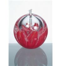 Olejová lampa červená 80 mm