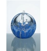 Olejová lampa modrá 80 mm